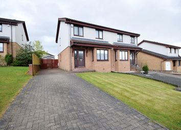 Thumbnail 3 bed semi-detached house for sale in Laurieston Crescent, Airdrie
