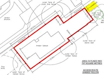 Thumbnail Land for sale in Wallace St, Ardler School, Ardler, Perthshire PH128Ss