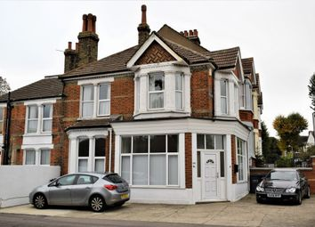 Thumbnail 3 bed flat to rent in Old Road West, Gravesend