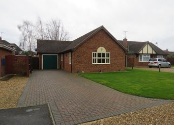 Thumbnail 2 bed detached bungalow for sale in Campion Close, Spalding
