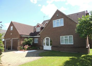 Thumbnail 4 bed detached house for sale in Listers Road, Upwell, Wisbech