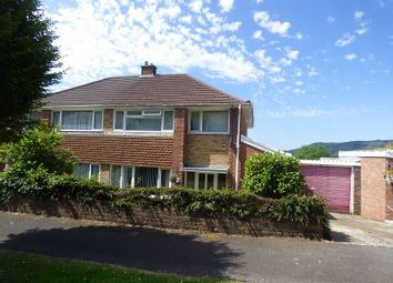 Thumbnail 3 bed semi-detached house to rent in Alexander Road, Rhyddings, Neath.