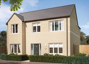 "Thumbnail 4 bed detached house for sale in ""The Brick Pendlebury "" at Harrogate Road, Greengates, Bradford"