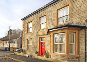 Thumbnail 4 bed semi-detached house for sale in Burnley Road East, Lumb