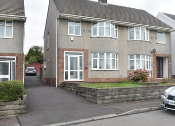 Thumbnail 3 bed semi-detached house for sale in Peniel Green Road, Llansamlet, Swansea