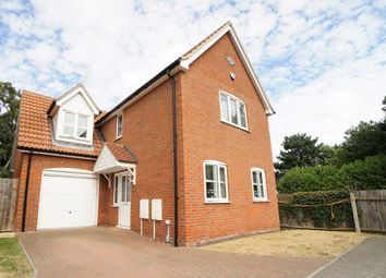 Thumbnail 4 bed detached house for sale in Sewell Wontner Close, Kesgrave