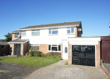 Thumbnail 3 bed semi-detached house for sale in Tamar Drive, Oakley, Hants