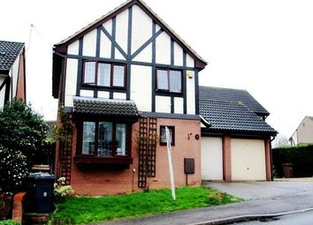 Thumbnail 3 bed detached house to rent in Ennismore Green, Luton