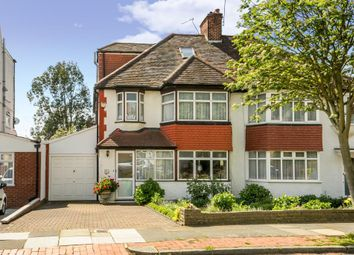 Thumbnail 4 bedroom semi-detached house for sale in Sandringham Gardens, London N12,