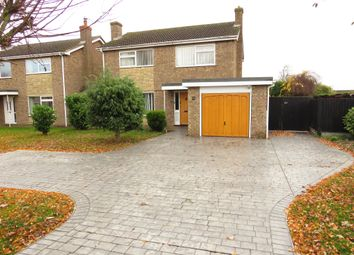 Thumbnail 4 bed detached house for sale in Elliott Road, March