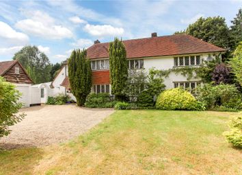 Thumbnail 4 bed detached house for sale in Foxburrow Hill Road, Bramley, Guildford, Surrey