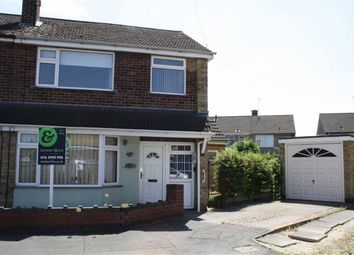 Thumbnail 3 bed semi-detached house for sale in Ivanhoe Close, Glenfield, Leicester