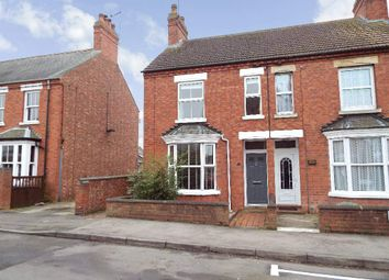 Thumbnail 3 bed end terrace house to rent in Queens Road, Wollaston, Northamptonshire