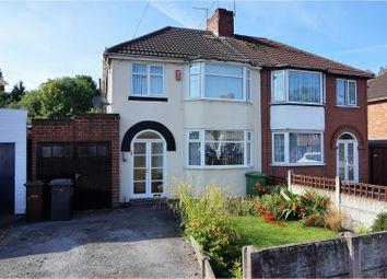 Thumbnail 3 bedroom semi-detached house for sale in Renton Road, Wolverhampton