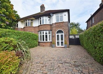 Thumbnail 3 bed semi-detached house for sale in Ferndene Road, Didsbury, Manchester