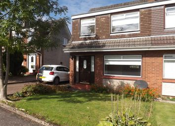 Thumbnail 3 bed semi-detached house to rent in Meadowburn, Bishopbriggs, Glasgow
