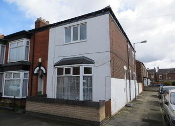 Thumbnail 3 bedroom end terrace house for sale in Perth Street, Hull