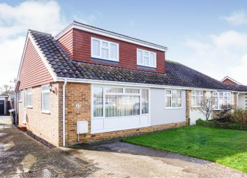 Thumbnail 3 bed semi-detached bungalow for sale in Chichester Way, Selsey, Chichester