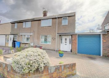 Thumbnail 3 bed semi-detached house for sale in St. Johns Estate, South Broomhill, Morpeth