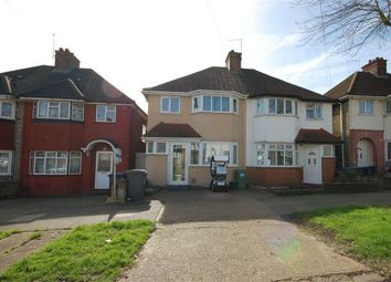 Thumbnail 3 bed semi-detached house for sale in Oakington Manor Drive, Wembley