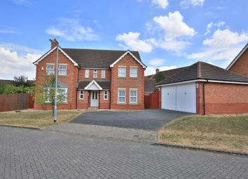 Thumbnail 4 bed detached house for sale in Amethyst Close, Sleaford