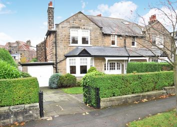 Thumbnail 5 bed semi-detached house for sale in Vernon Road, Harrogate