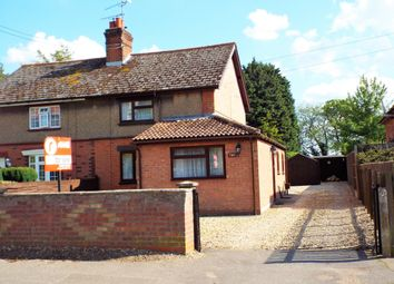 Thumbnail 4 bed semi-detached house for sale in Church View, Gooderstone, King's Lynn