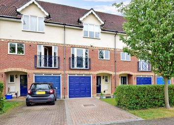 Thumbnail 3 bed town house for sale in Fennel Close, Rochester, Kent