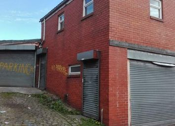 Thumbnail Industrial for sale in Rear Of 161 Gibbon Street, Bolton