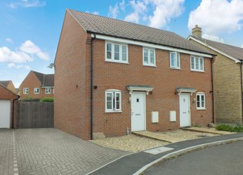 Thumbnail 2 bed semi-detached house for sale in Walker Drive, Faringdon