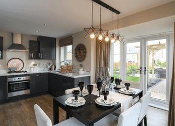 "Thumbnail 4 bedroom detached house for sale in ""Hexley"" at Carters Lane, Kiln Farm, Milton Keynes"