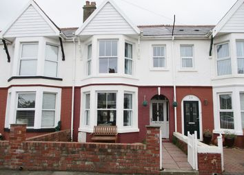 Thumbnail 3 bed terraced house for sale in Queens Avenue, Porthcawl