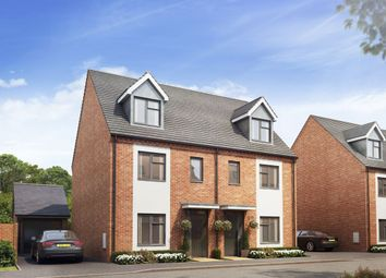 Thumbnail 4 bed semi-detached house for sale in Campden Road, Long Marston, Stratford-Upon-Avon