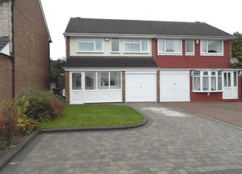 Thumbnail 3 bedroom semi-detached house to rent in Carlton Mews, Castle Bromwich, Birmingham