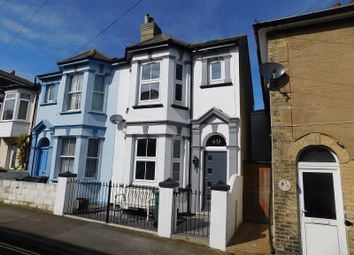 Thumbnail 4 bed end terrace house to rent in Dudley Road, Ventnor, Isle Of Wight.