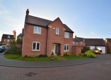 Thumbnail 3 bed detached house for sale in Leslie Yoxall Drive, Loughborough