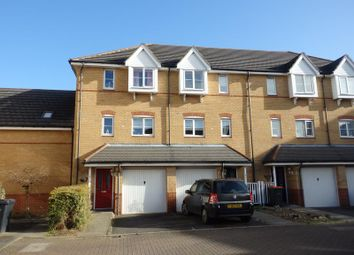 Thumbnail 3 bed town house to rent in The Sidings, Bedford
