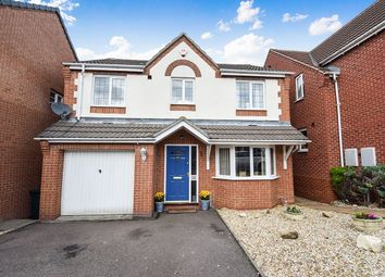Thumbnail 4 bed detached house for sale in Rowley Close, Swadlincote
