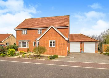 Thumbnail Detached house for sale in Fred Tuddenham Drive, Cawston, Norwich