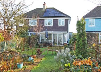 Thumbnail 3 bed semi-detached house for sale in Highfield, Clyst Road, Topsham, Exeter