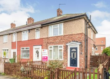 Thumbnail 2 bed end terrace house for sale in Sadberge Road, Stockton-On-Tees