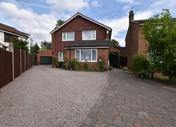 Thumbnail 4 bed detached house for sale in Paddock Close, Quorn, Loughborough