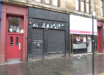Thumbnail Retail premises for sale in Saracen Street, Glasgow
