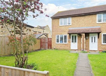 Thumbnail 2 bed semi-detached house for sale in Carmen Close, Swindon, Wiltshire