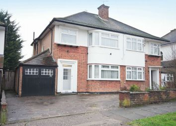 Thumbnail 3 bedroom semi-detached house for sale in The Ridgeway, North Harrow, Middlesex
