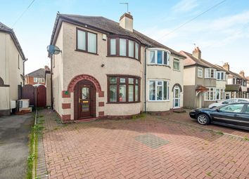 Thumbnail 3 bedroom semi-detached house for sale in Sundour Crescent, Wednesfield, Wolverhampton
