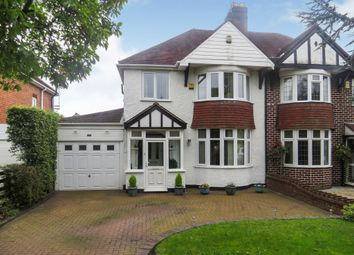 Thumbnail 3 bed semi-detached house for sale in Stafford Road, Bloxwich, Walsall