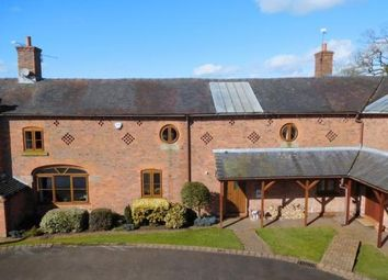 Thumbnail 4 bed barn conversion for sale in Englesea Court, Barthomley Road, Crewe, Cheshire