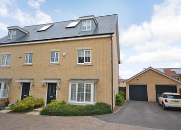 Thumbnail 4 bedroom semi-detached house for sale in Chapmans Close, Little Canfield, Dunmow
