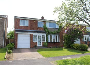 Thumbnail 4 bed detached house for sale in Enderby Close, Washingborough, Lincoln